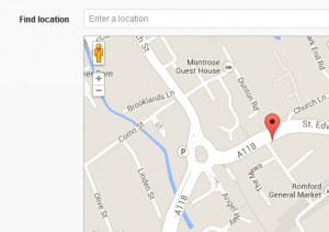 Create a Google Map location in the WordPress Editor
